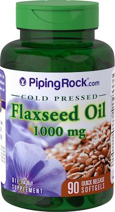 Improve Your Skin, Heart & Digestion, Flaxseed oil 1000mg (USA)