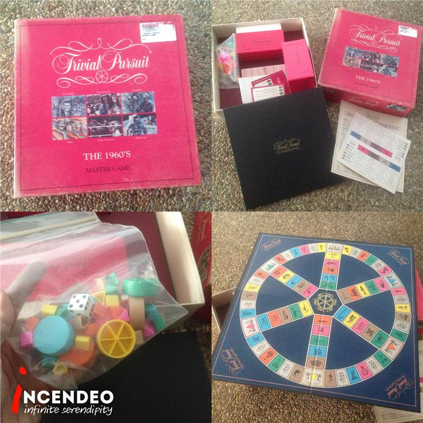 **incendeo** - The 1960's Trivial Pursuit Board Game