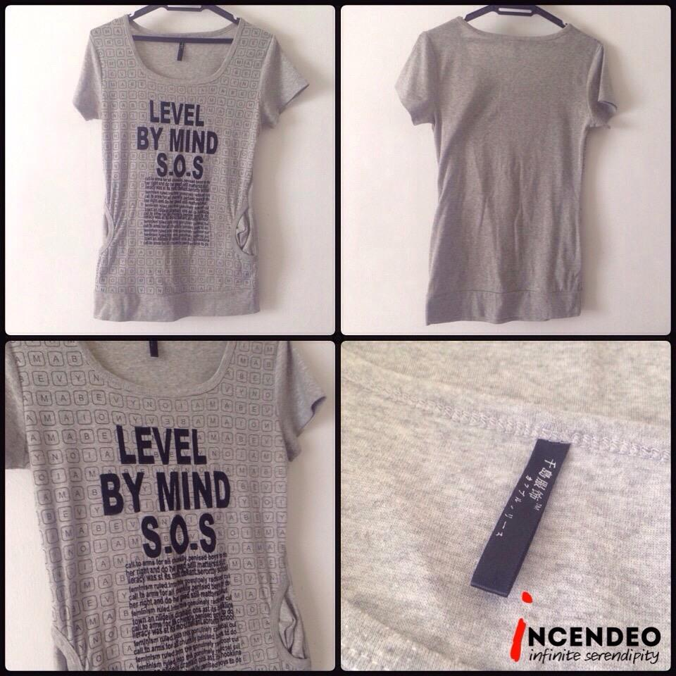 **incendeo** - 千岛服饰 Grey Top for Ladies