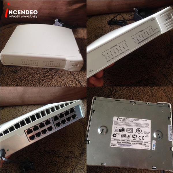 **incendeo** - 3COM OfficeConnect Dual Speed Switch 16 Plus 3C16792