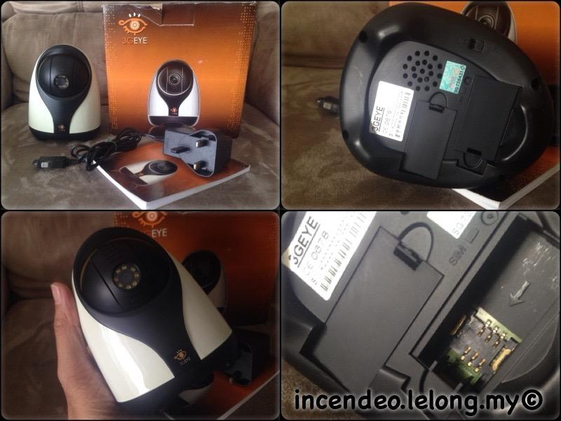 **incendeo** - 3GEYE 3G Remote Monitoring Pan Tilt Camera