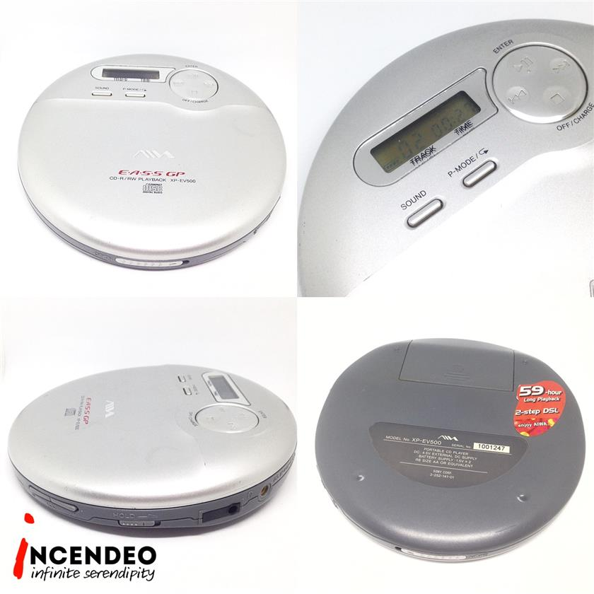 **incendeo** - AIWA E.A.S.S GP Portable CD Player XP-EV500
