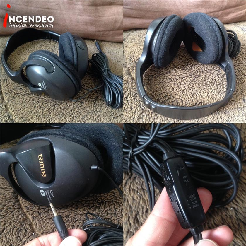 **incendeo** - aiwa Stereo Dynamic Headphones XV303