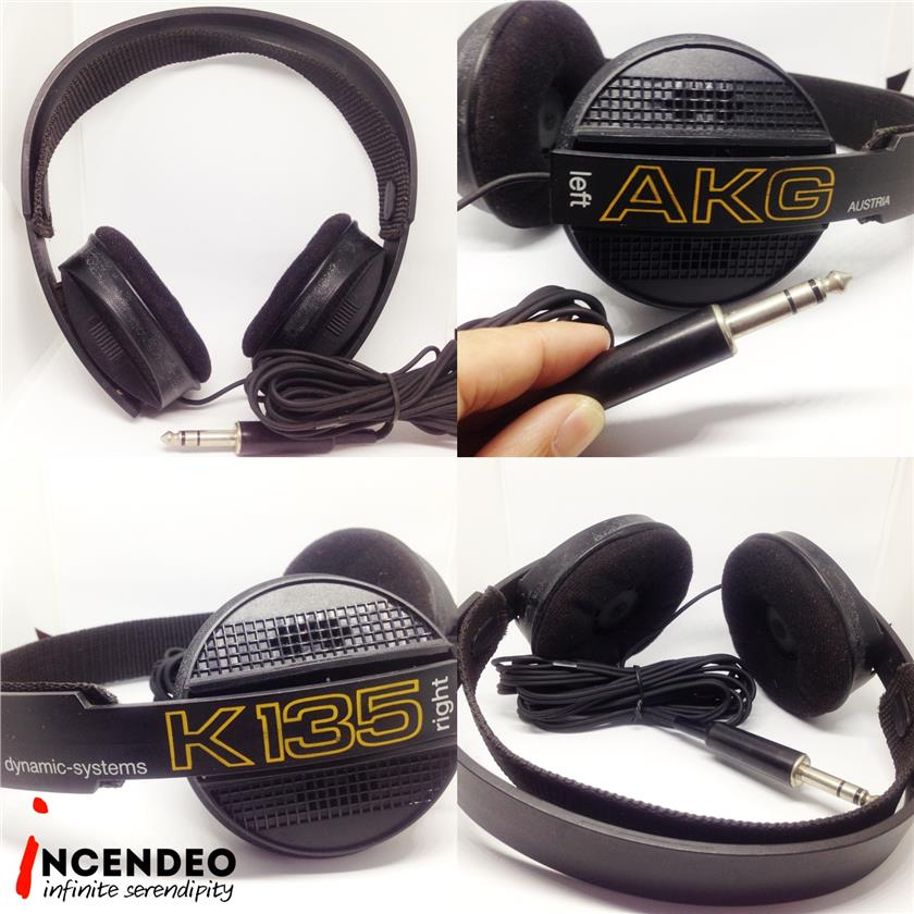 **incendeo** - AKG Dynamic Systems Stereo Headphones K-135