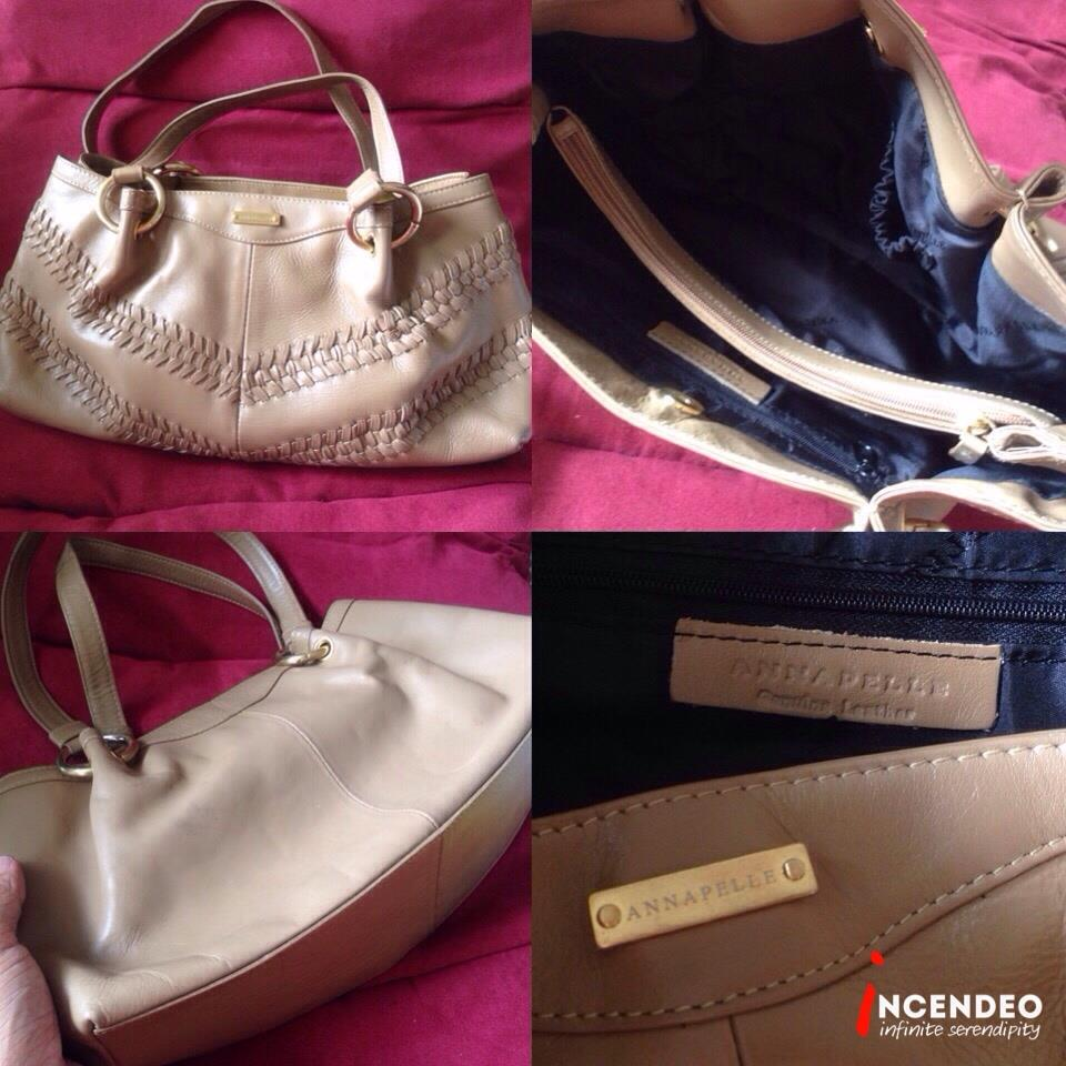 Incendeo Annapelle Leather Handbag For Las