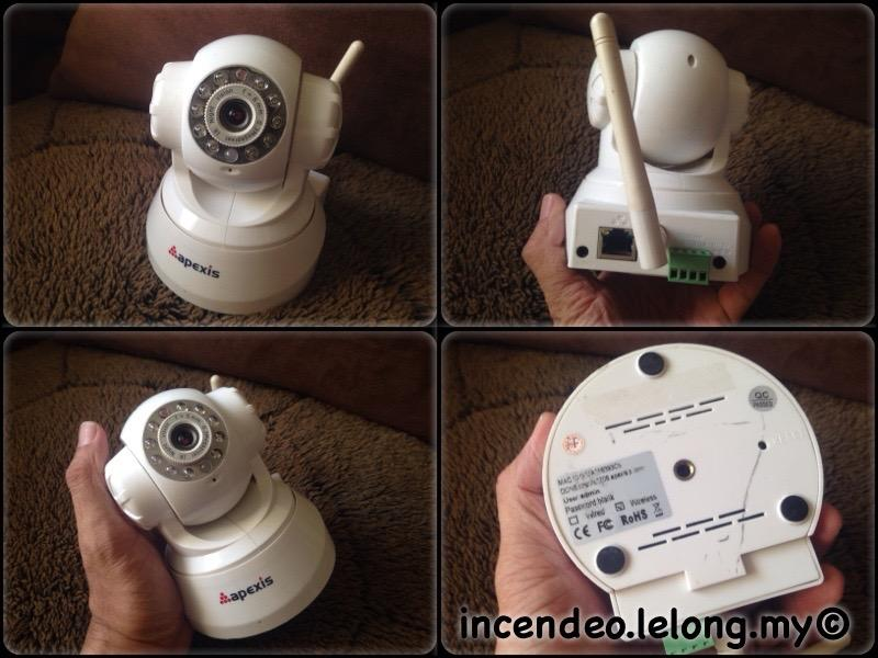 **incendeo** - APEXIS Wireless Pan and Tilt IP Camera