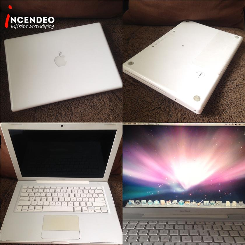 "**incendeo** - APPLE Macbook Unibody 13"" White"
