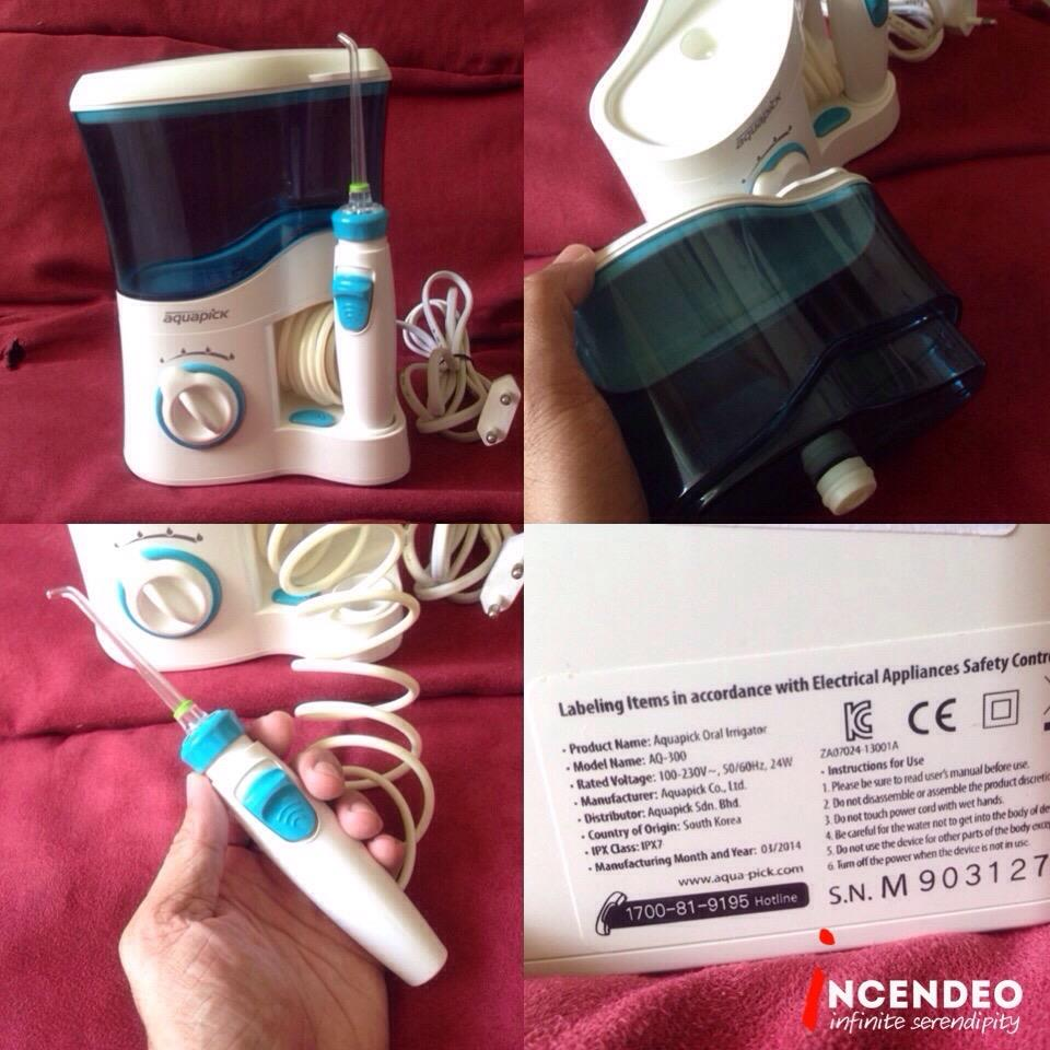 **incendeo** - Aquapick Oral Irrigator AQ-300