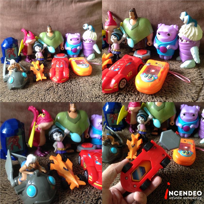 **incendeo** - Assorted McDonalds Happy Meal Toys #1