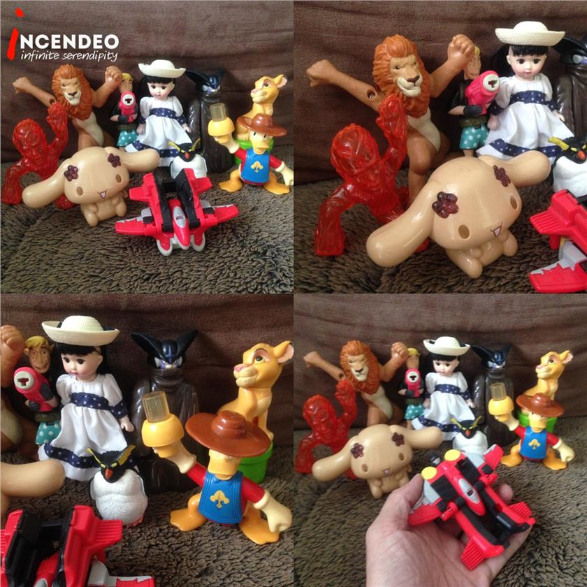 **incendeo** - Assorted McDonalds Happy Meal Toys #21