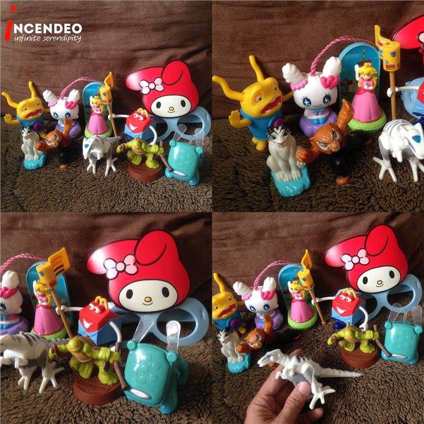 **incendeo** - Assorted McDonalds Happy Meal Toys #4