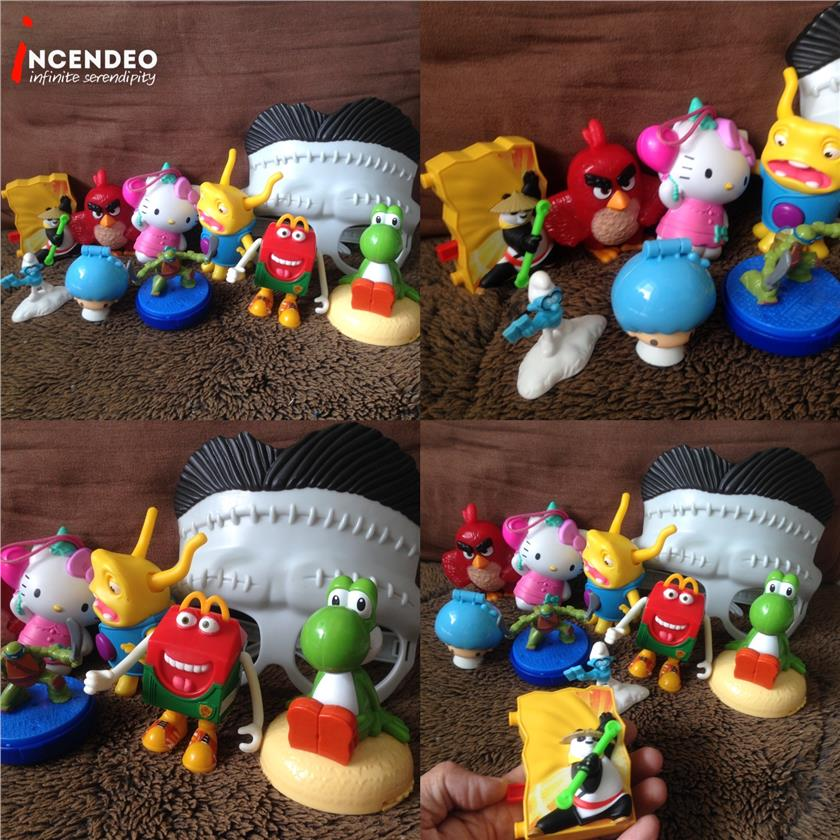 **incendeo** - Assorted McDonalds Happy Meal Toys #5