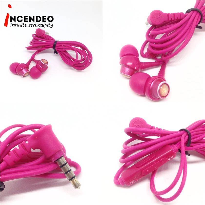 **incendeo** - Audio-Technica InEar Pink Headsets ATH-CKL203iS-PK