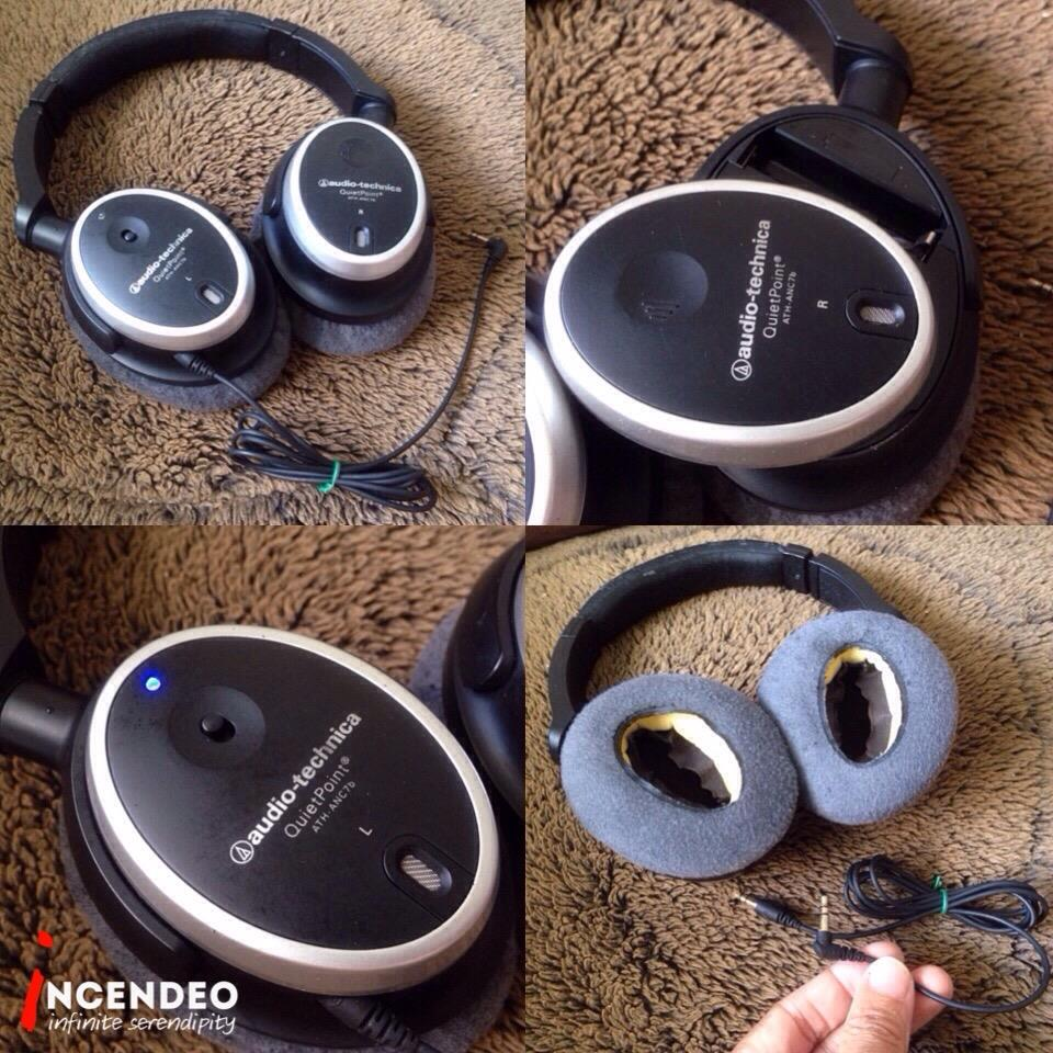 **incendeo** - audio-technica QuietPoint Noise Cancelling Headphones