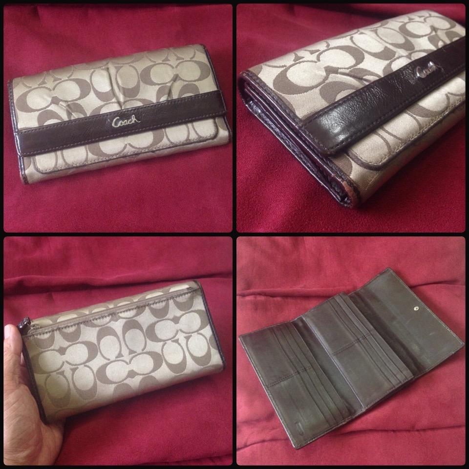 **incendeo** - Authentic C O A C H Signature Purse for Ladies