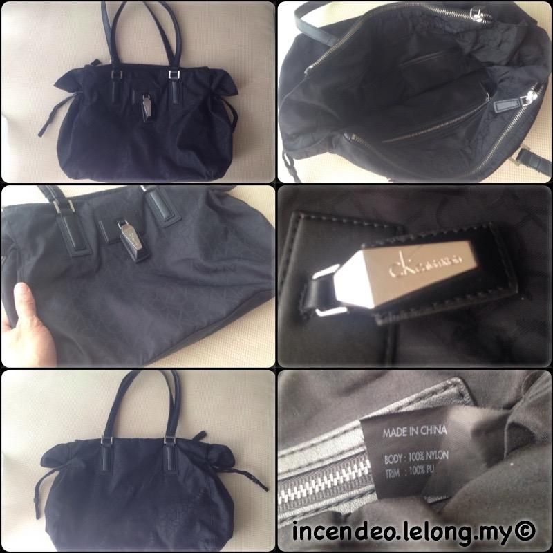**incendeo** - Authentic ck Black Handbag for Ladies