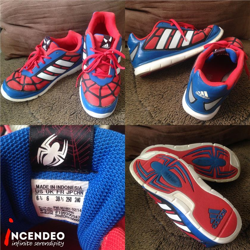 **incendeo** - Authentic  a d i d a s  Spider-Man Shoes