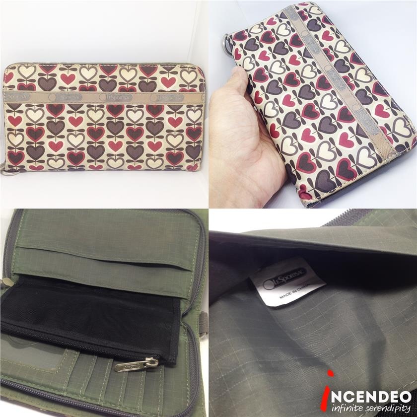 **incendeo** - Authentic LeSportsac Loves Wallet for Ladies