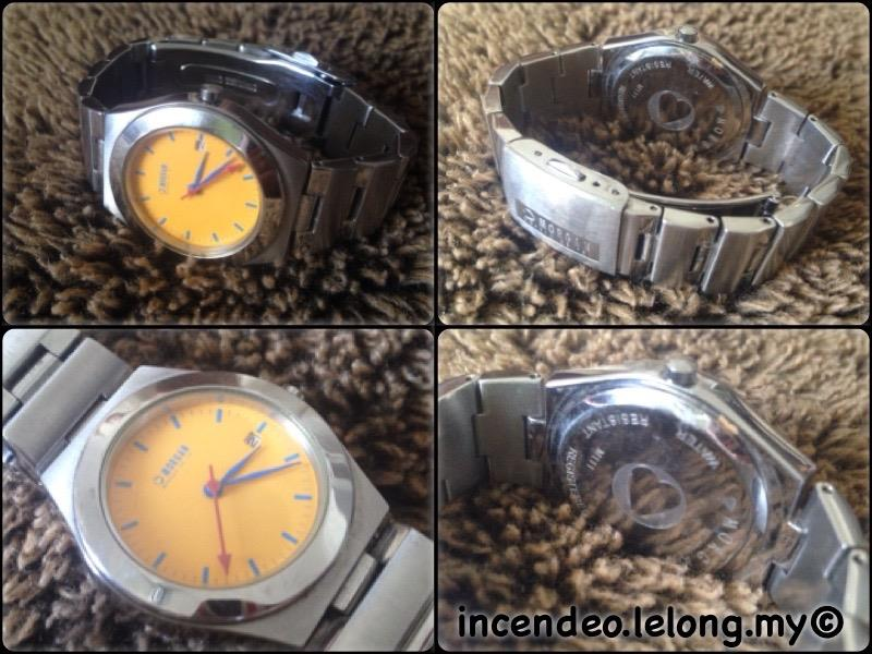 **incendeo** - Authentic MORGAN Stainless Steel Quartz Watch