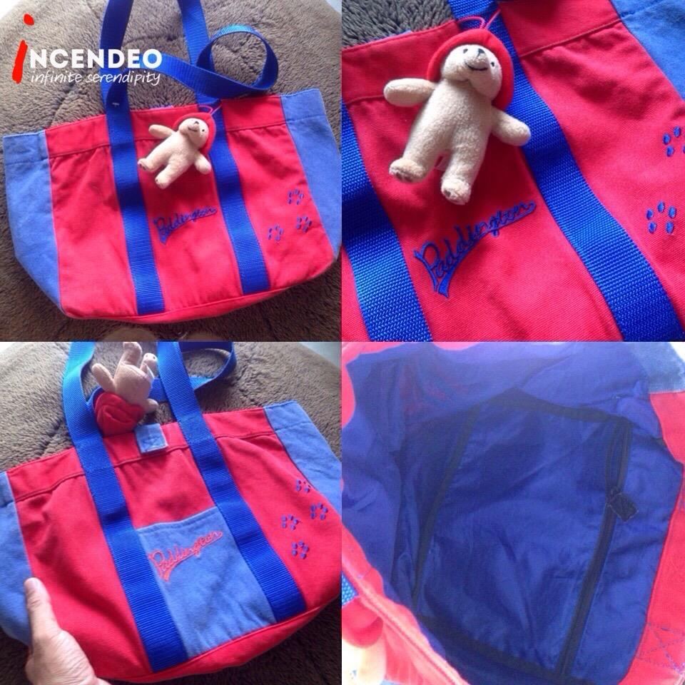 **incendeo** - Authentic Paddington Bear Carrying Bag