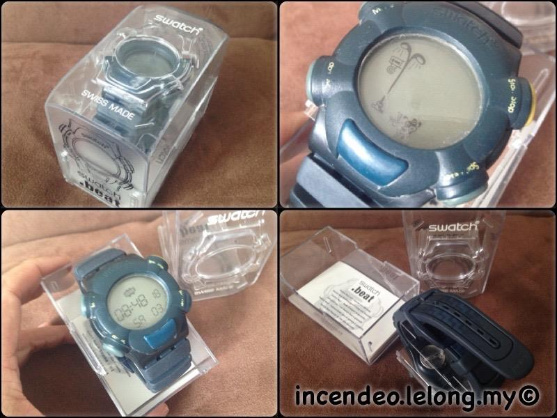 **incendeo** - Authentic SWATCH .beat Animation Watch