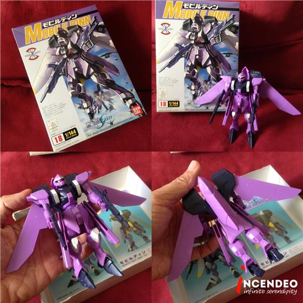 **incendeo** - BANDAI Gundam Seed Mobile Dinn 1/144 Model Figure