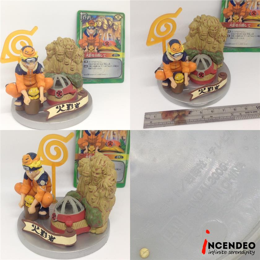 **incendeo** - Bandai Naruto Uzumaki And The Hokage Rock Figures(2005)