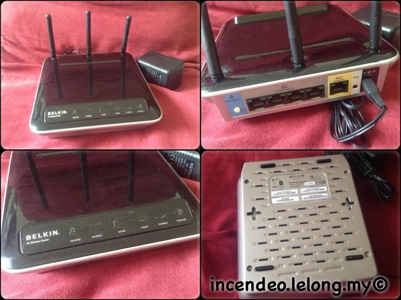 **incendeo** - BELKIN N1 Wireless Router F5D8231-4