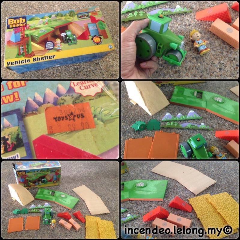 **incendeo** - BOB of the Builder Vehicle Shelter Building Set