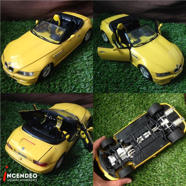 **incendeo** - BURAGO Italy BMW Roadster 1/18 Model Car