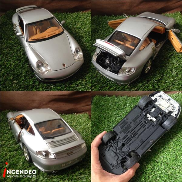 **incendeo** - BURAGO Italy Porsche 996 Turbo 1/18 Model Car