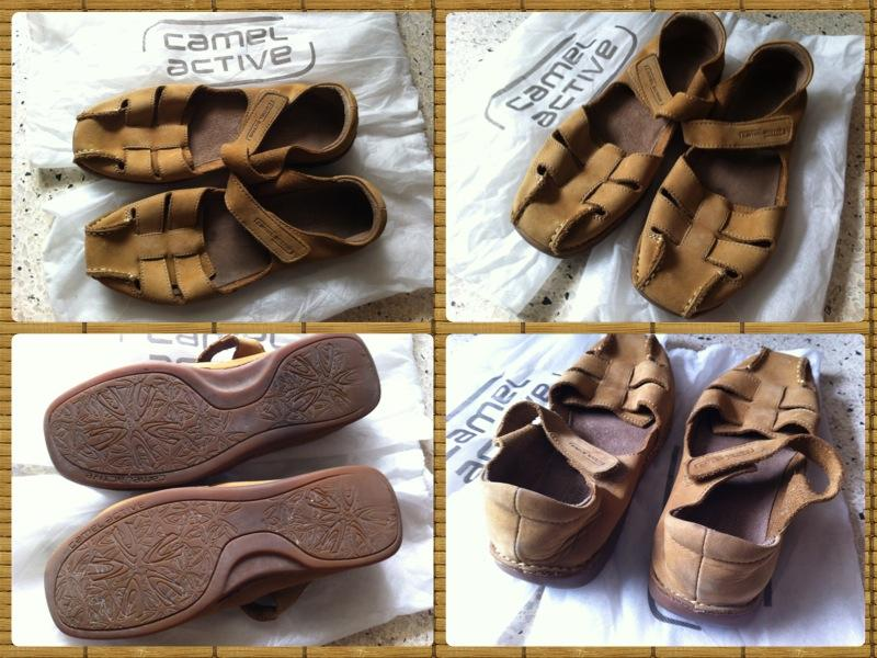 **Incendeo** - Camel Active Genuine Leather Sandal for Ladies