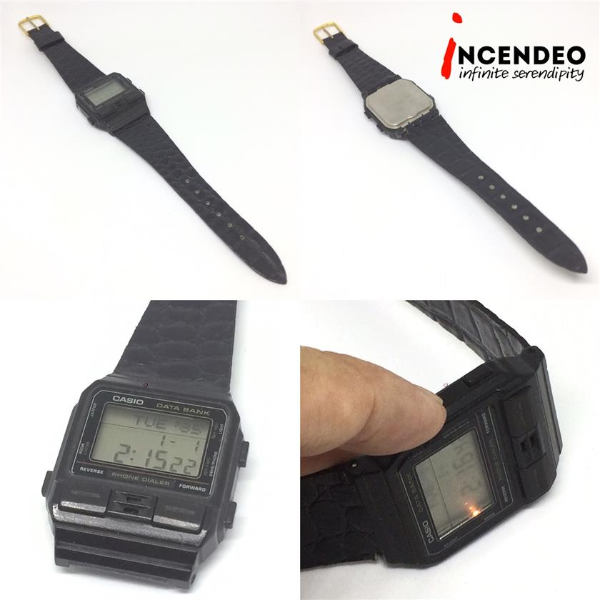 **incendeo** - CASIO Data Bank Phone Dialer Digital Watch DBA-80(1987)