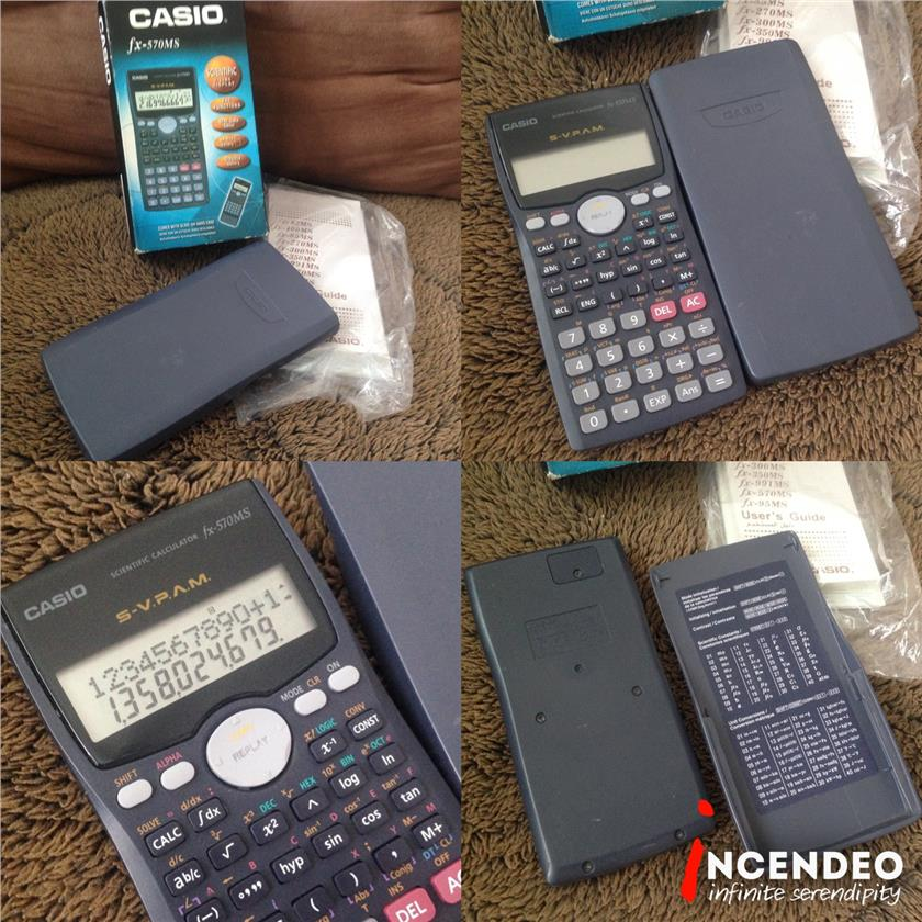 **incendeo** - CASIO Scientific Calculator fx-570MS