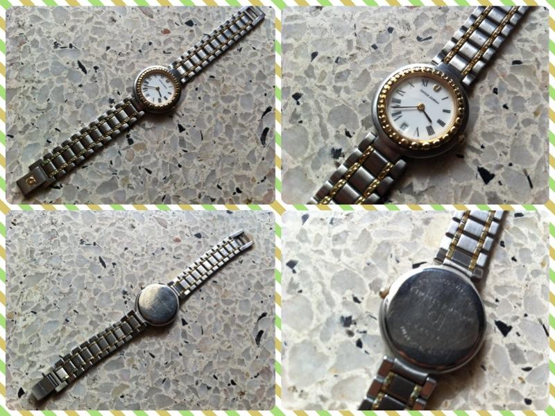 **Incendeo** - Charles Jourdan Stainless Steel Quartz Watch for Ladies