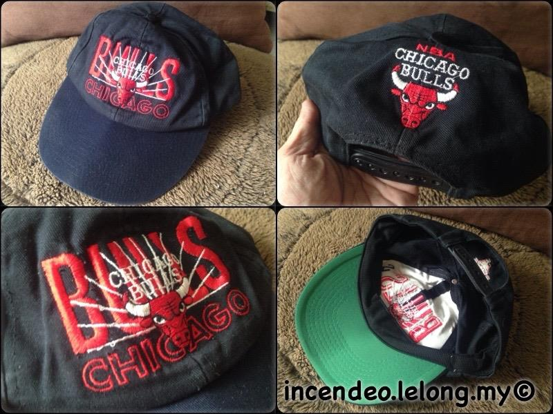 **incendeo** - CHICAGO BULLS Black Cap