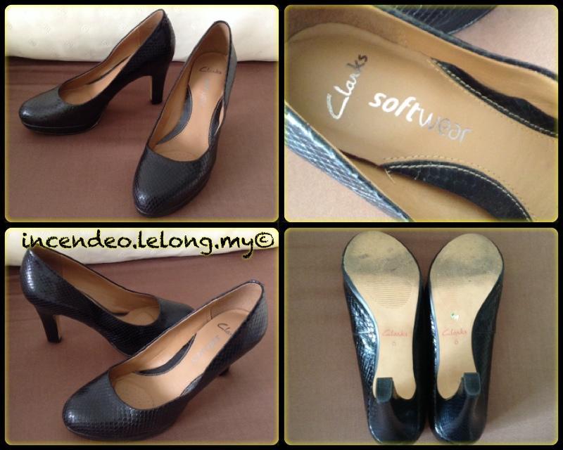 Kunden zuerst große Vielfalt Modelle klassische Passform **Incendeo** - CLARKS Softwear Black Leather High Heels for Ladies