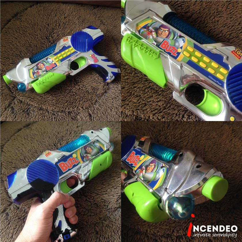 **incendeo** - Disney Toy Story Buzz Lightyear Gun for Kids