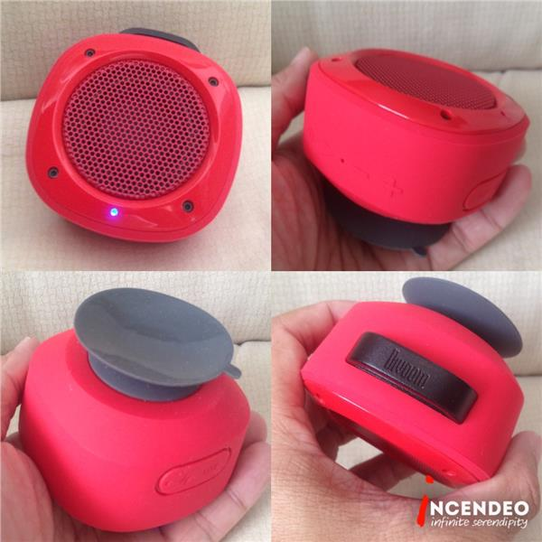 **incendeo** - DIVOOM Red Airbeat-10 Wireless Bluetooth Speaker