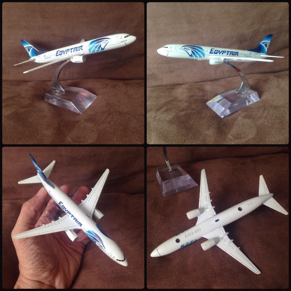 **incendeo** - EQYPTAIR Boeing B737-800 Air Craft Model