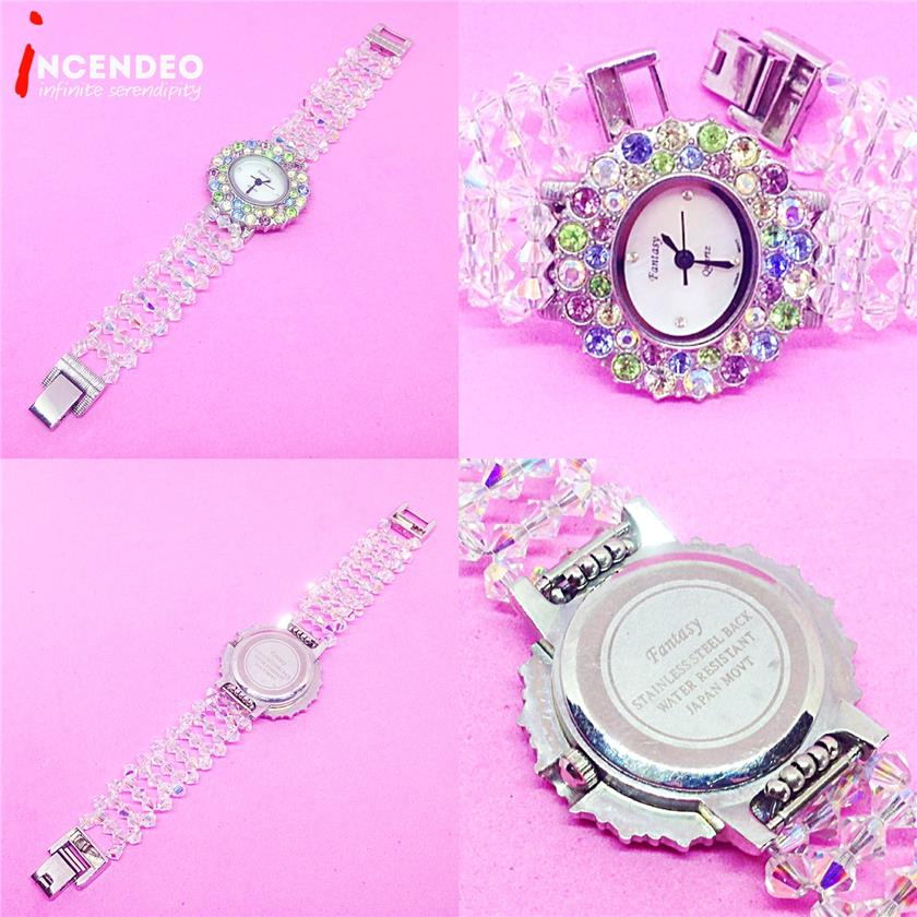 **incendeo** - FANTASY Crystal and Jewels Quartz Watch