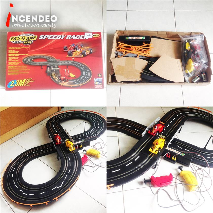 **incendeo** - FASTLANE Speedy Racer Racing Track Set