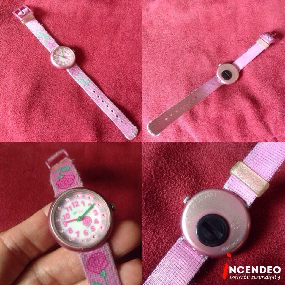 **incendeo** - filk-flak Pink Rose Quartz Watch for Girls