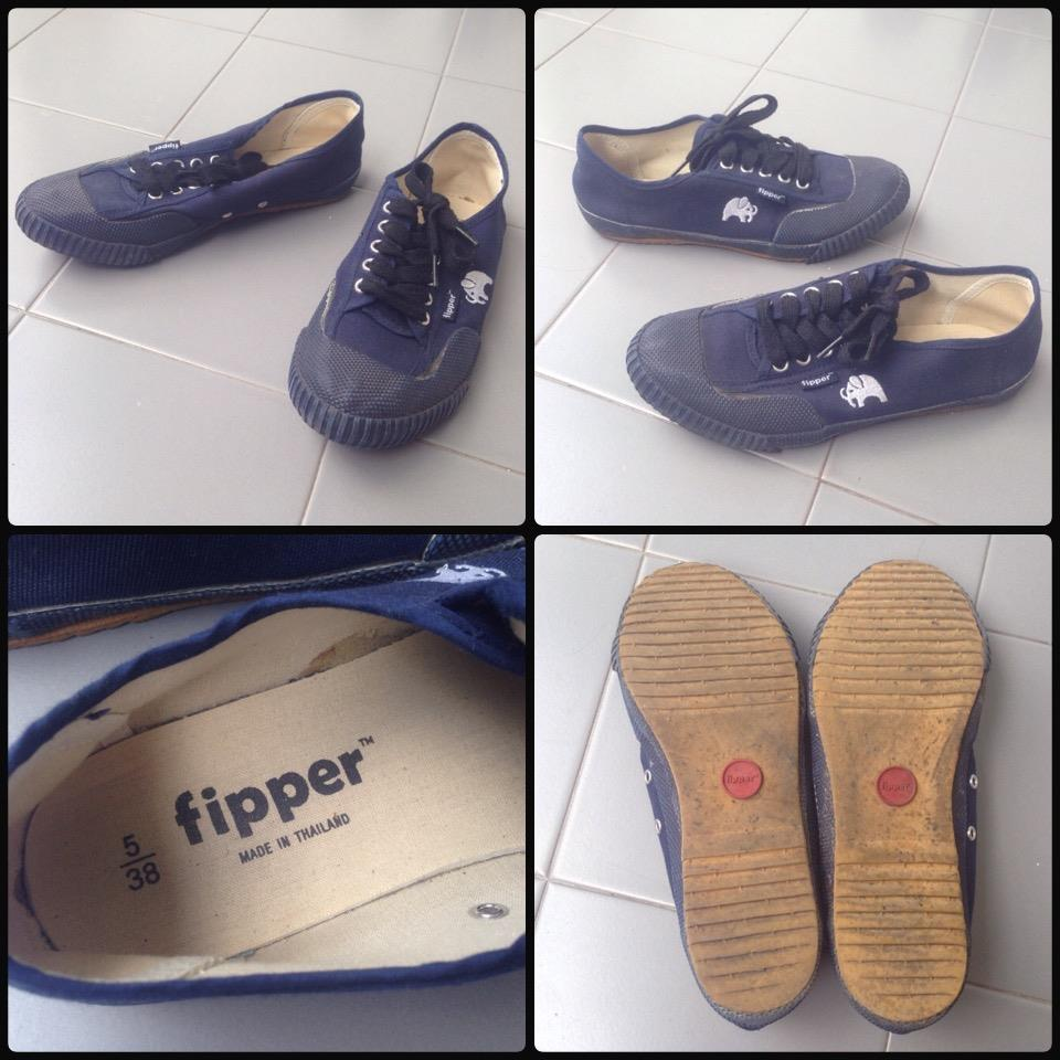 **incendeo** - fipper Blue Canvas Shoes