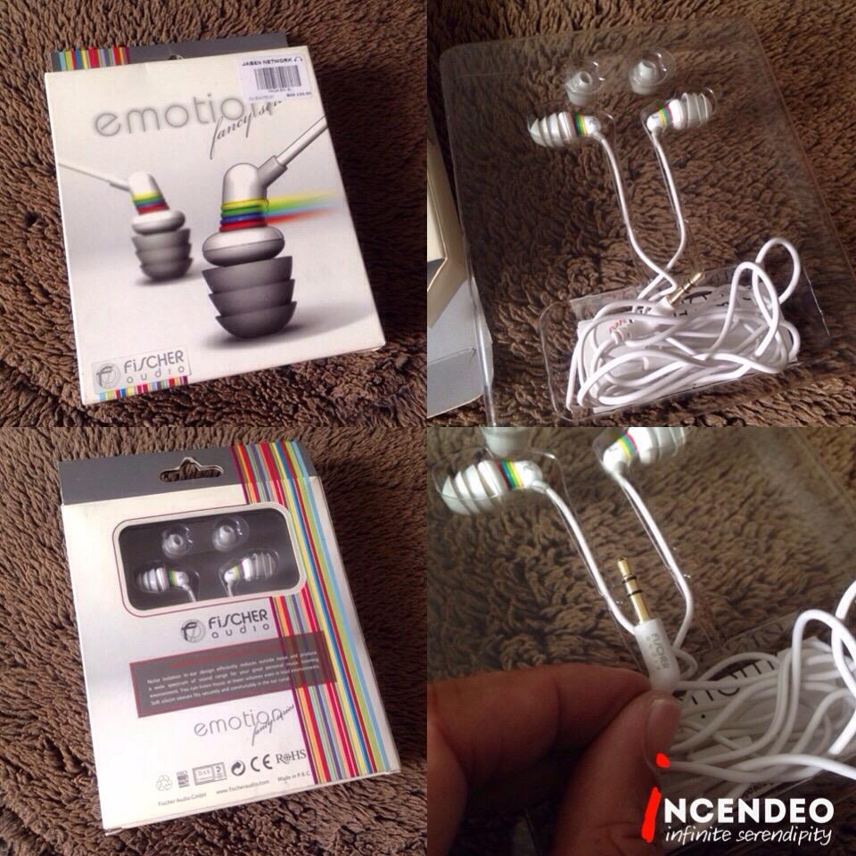 **incendeo** - FISCHER AUDIO emotion In-Ear Headphones