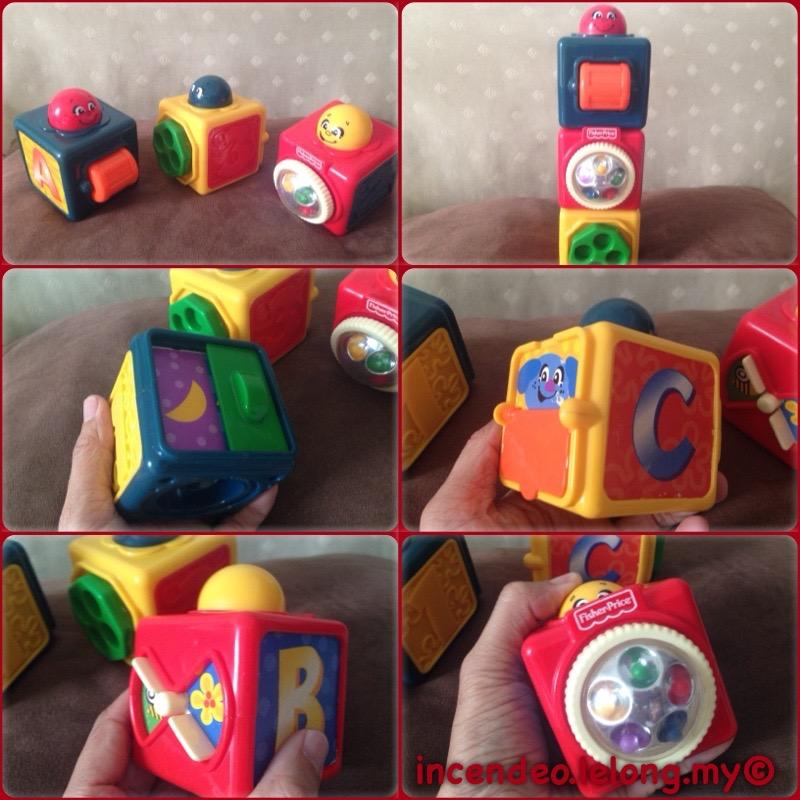 **incendeo** - FISHER-PRICE Activity Cubes for Toddlers