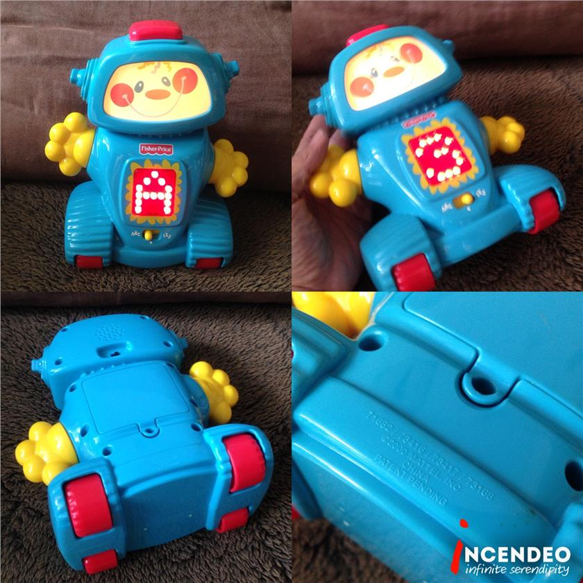 **incendeo** - Fisher-Price Alphabets and Numbers Talking Robot