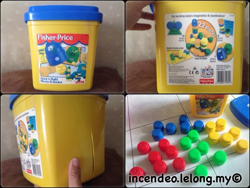 **incendeo** - FISHER-PRICE Building Blocks for Toddlers