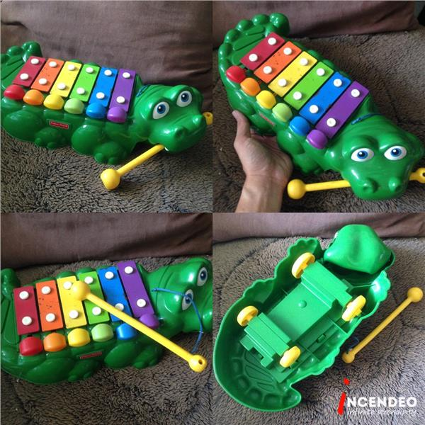 **incendeo** - FISHER PRICE Crocodile Xylophone for Kids