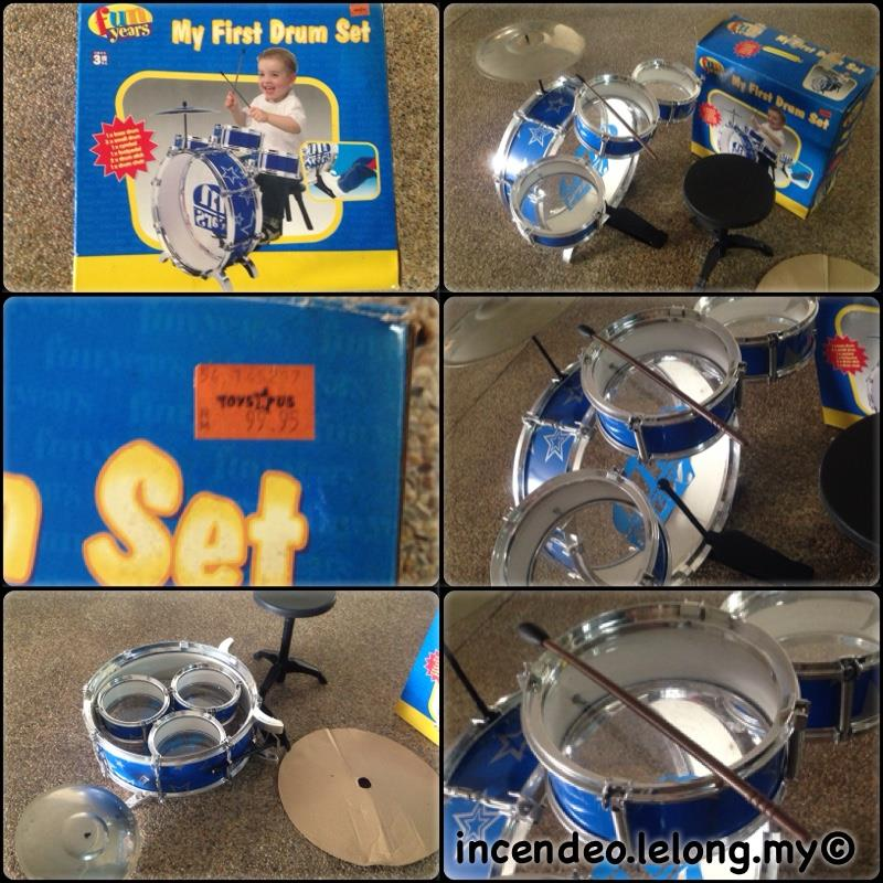 **incendeo** - fun years My First Drum Set for Kids